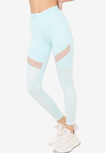 ADIDAS blue hyperglam high-rise long tights 48ADCAAD0D3013GS_1