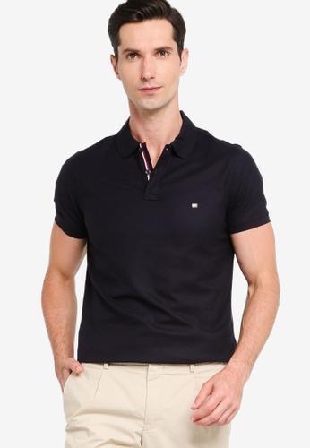 Tommy Hilfiger 海軍藍色 Luxury Stretch Slim Polo Shirt 3139AAADB22B5CGS_1