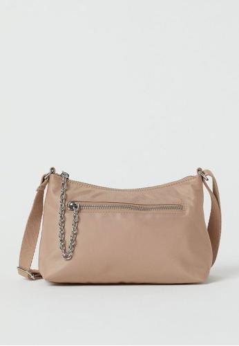 H&M beige Shoulder Bag 44DAFAC5B37E58GS_1