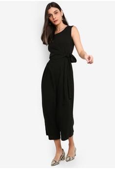 5fa36e87ec4 FORCAST Francesca Tie Waist Jumpsuit S  125.90. Available in several sizes