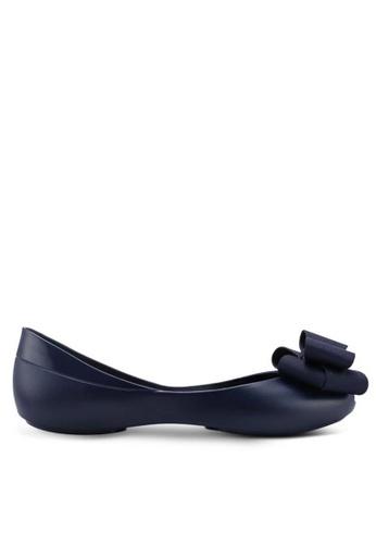 Twenty Eight Shoes Jelly Bow Ballet Flats 658-18 F647ASHD965E50GS_1