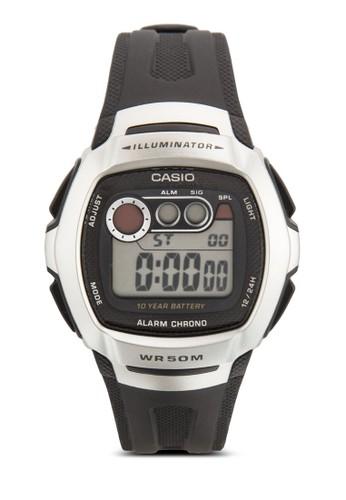 W-210-1AVDF 數碼樹脂手esprit hk錶, 錶類, 飾品配件