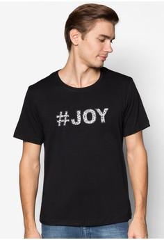 XM-#Joy Applique Tee