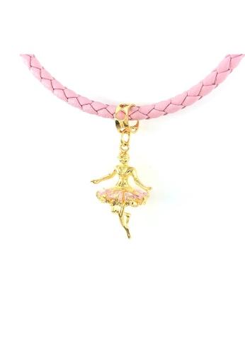 Arthesdam Jewellery Arthesdam Jewellery 916 Gold Dancing Ballerina Charm Pink D4787ACF955D1AGS_1
