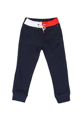 Tommy Hilfiger black Flag Piecing Pants 4C065KA863F38AGS_1