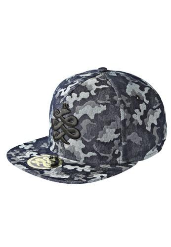 Chronomart blue Baem Korea Camouflage Print Snap-back Fashion Baseball Cap CH783AC09VOKPH_1