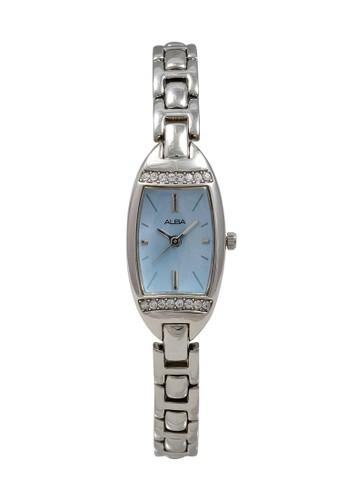 Alba silver ALBA Jam Tangan Wanita - Silver Blue - Stainless Steel - AC3Q77 4A98BACDEA5BF0GS_1