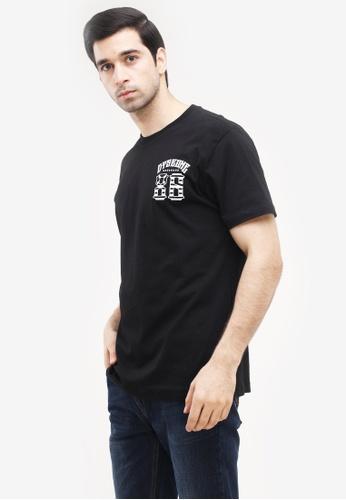 Dyse One black Round Neck Regular Fit T-Shirt 6A77DAAA9DE032GS_1
