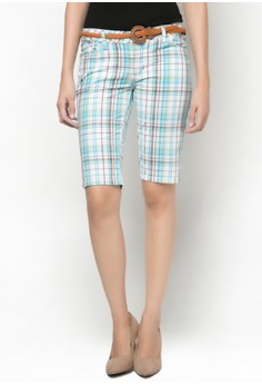 Ladies Low Rise Bermuda Shorts