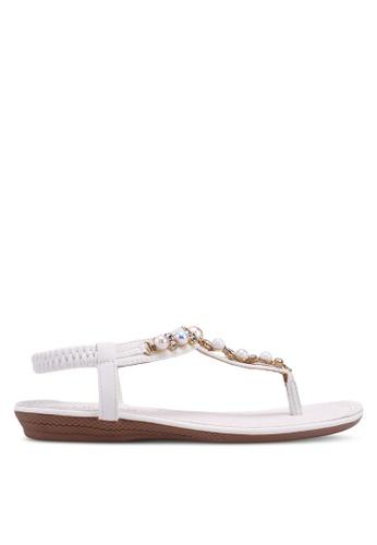 9e5e31ab9f1 Buy Mimosa Embellished Flat Sandals