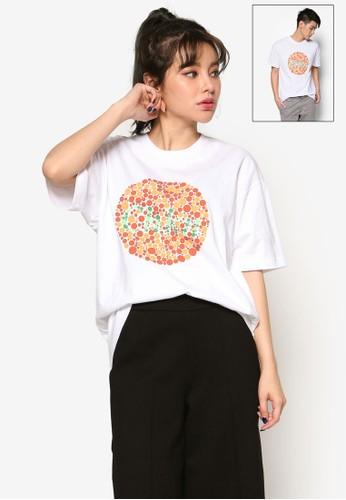 Chkn 短袖T 恤, 服飾, zalora 手錶上衣