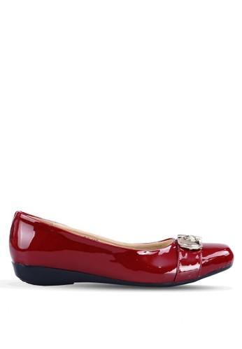 Ghirardelli red Ghirardelli Flats Blaire - Maroon GH325SH0V2KXID_1