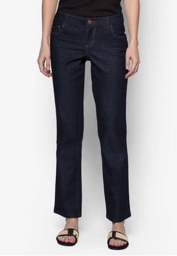 簡約直筒zalora是哪裡的牌子牛仔褲, 服飾, 牛仔褲
