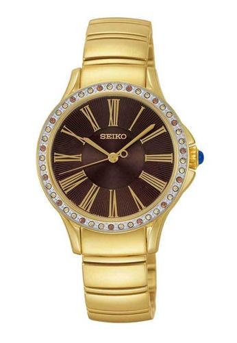 Seiko gold Seiko Gold Stainless Steel Watch 0213CACD5751EFGS_1