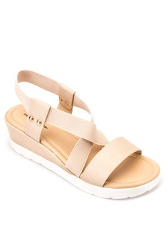 Lindsay Wedge Sandals