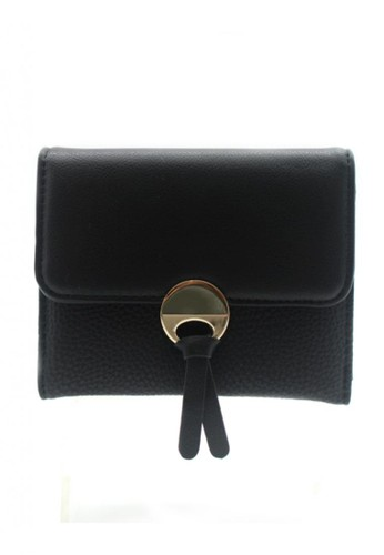 London Berry By HUER Opera Flap Small Wallet