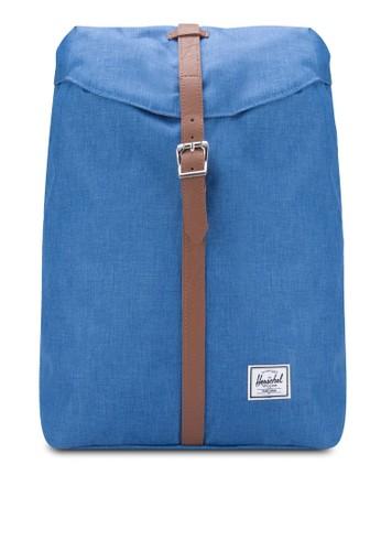 袋蓋扣環飾帶後esprit outlet 香港背包, 包, 後背包
