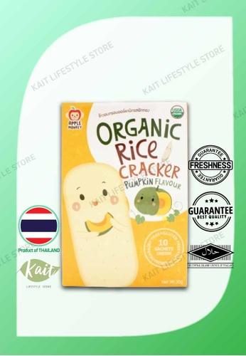 Kait Lifestyle APPLE MONKEY Organic Rice Cracker - Pumpkin 0EB9EES287DBDAGS_1