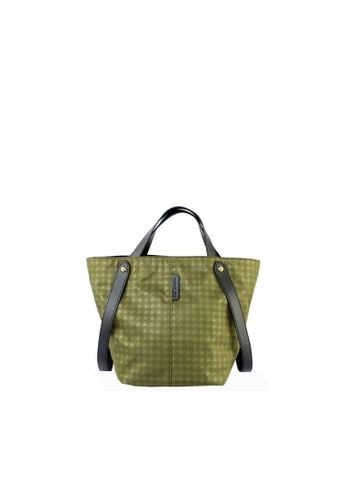 RENOMA Paris green Renoma Ladies 2 Way Satchel Hand Bag 1905099-02 9A1D3AC6BFA11DGS_1