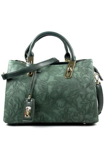 Kimbel International green Handbag with Sling 6C3ADACA4458DDGS_1