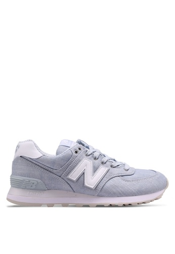 New Balance blue 574 Lifestyle Sneakers F7523SH72AB5F1GS_1