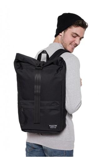 Martin Versa black Martin Versa Tas TR14 Ransel Pria Laptop / Macbook Water Repellent Roll Top - Hitam B3CBDAC9099134GS_1