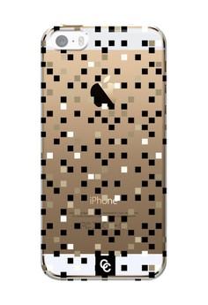Casey Crazy - Dappled Semi-Transparent Hard Case for iPhone 5,5s