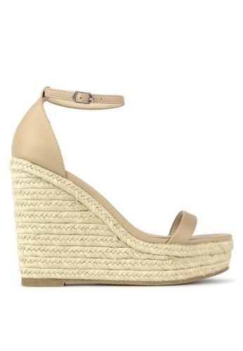 Betts beige Sage Wedge Sandals B717CSHA887A1EGS_1