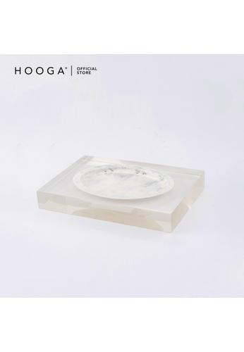 HOOGA white Hooga Toiletries Soap Dish Koenraad (Bundle of 2) 5DE9BHL6949BC9GS_1