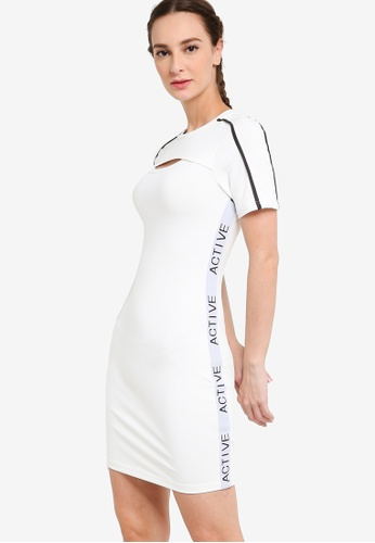 ZALORA ACTIVE white Cut Out Detail Tennis Dress BAFA4AA7F40370GS_1