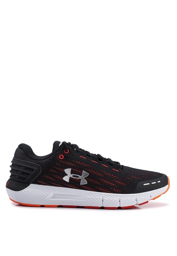 Under Armour black and multi UA Charged Rogue Shoes 2C0A4SHF03D8DEGS_1