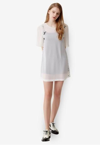 PLAY 兩件式迷你連身裙, 服esprit hk飾, 洋裝