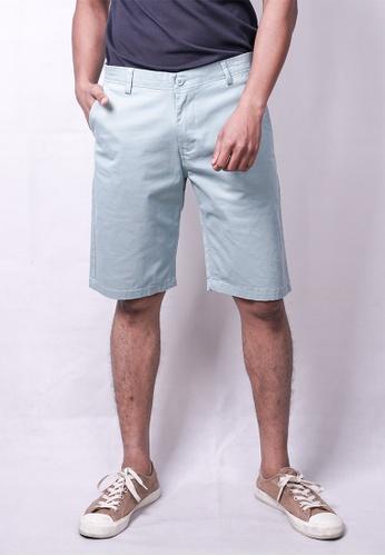 MILANO green and blue Milano Chino Shorts 6CED0AA49F8A96GS_1