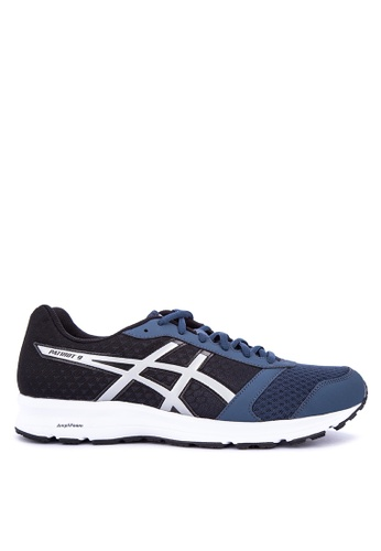 Asics blue and multi Patriot 9 Running Shoes 80ECDSH7FA53F3GS_1