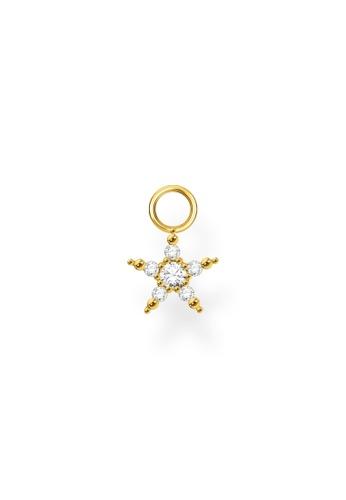 THOMAS SABO gold Ear Pendant Star (Single) Gold 107EDAC4CF2FE0GS_1