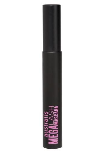 Australis black Mega Lash Mascara - Waterproof Black AU782BE27DAUSG_1