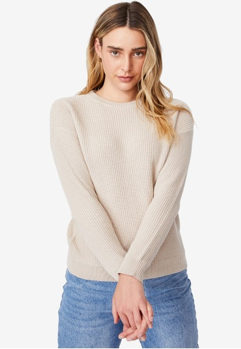 Cotton On grey Cotton Pullover 1C992AA092A045GS_1