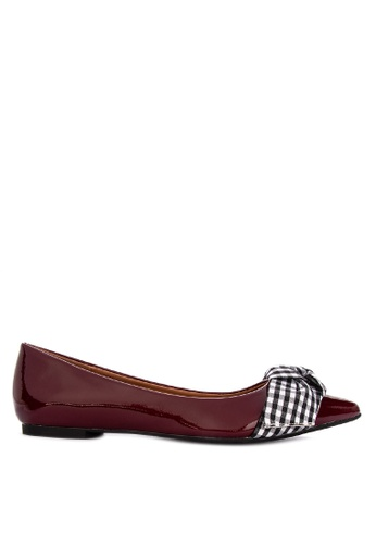 Primadonna red Ladies Shoes  Flats Pointed Flats 3470FSH286E553GS_1