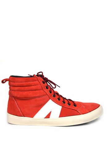 Black Master red Black Master Sneakers High Vield Red BL409SH0UWZIID_1