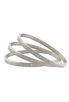 Venice Our Father Clip Bangle Set of 3