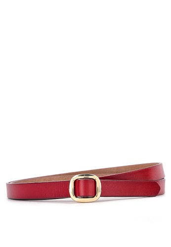 WHITEMODE red Bryanna Belts 4F5D4AC564C3ABGS_1