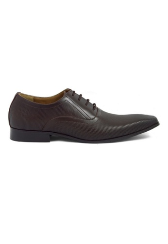 Tomaz brown Tomaz F115 Formal Lace Up (Coffee) TO717SH0RPNEMY_1