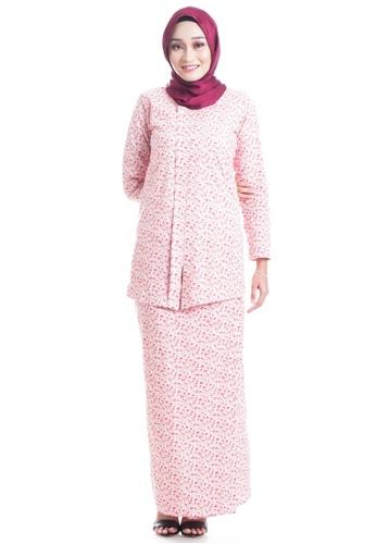Ashura multi Ayuna V-Shaped Cotton Kebaya 06F77AAFA1DB55GS_1