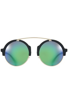 Summer Ladies Casual Round Sunglasses -Women's Eyewear 5586