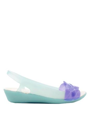 Twenty Eight Shoes green Braided Straps Jelly Rain Sandals VR925 7E7A8SH0E956B9GS_1