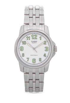 Analog Watch MTP-1216A-7BDF-SILVER