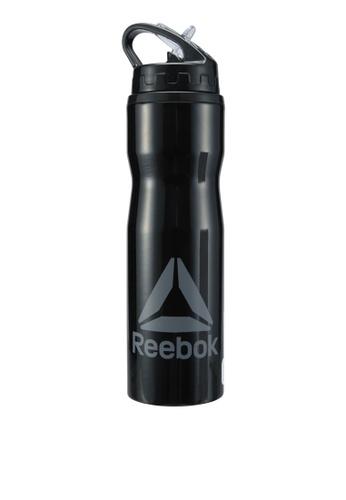 Reebok black Metal Water Bottle 750ml RE691AC0SW0UMY_1