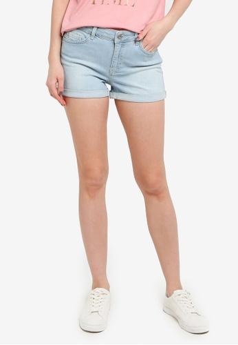 LC Waikiki blue Denim Shorts 6A5B4AA82537FBGS_1