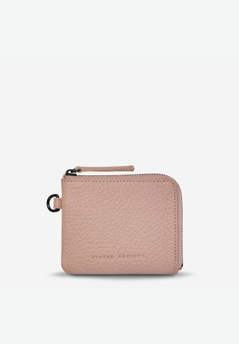 Status Anxiety pink Status Anxiety Part Time Friends Wallet - Dusty Pink D750AAC48DC9BBGS_1