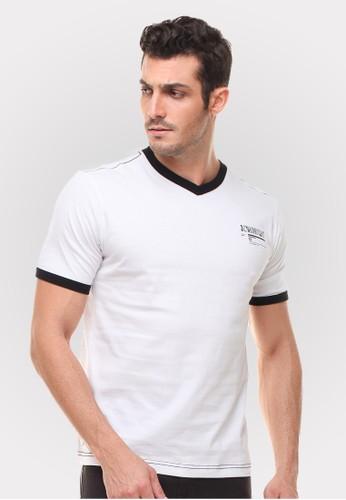 Johnwin white Johnwin - Slim Fit - Kaos Casual Active - Gambar Belakang - Putih JO804AA60ZWPID_1